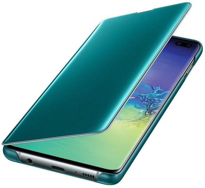 Чехол-книжка Samsung Clear View Cover для Samsung Galaxy S10 Plus (EF-ZG975CGEGRU) Green