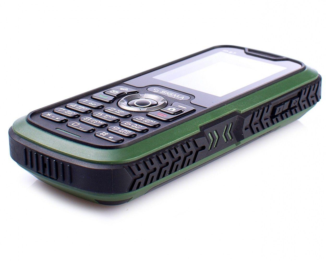 Мобильный телефон Sigma mobile X-treme IP67 Green - 3