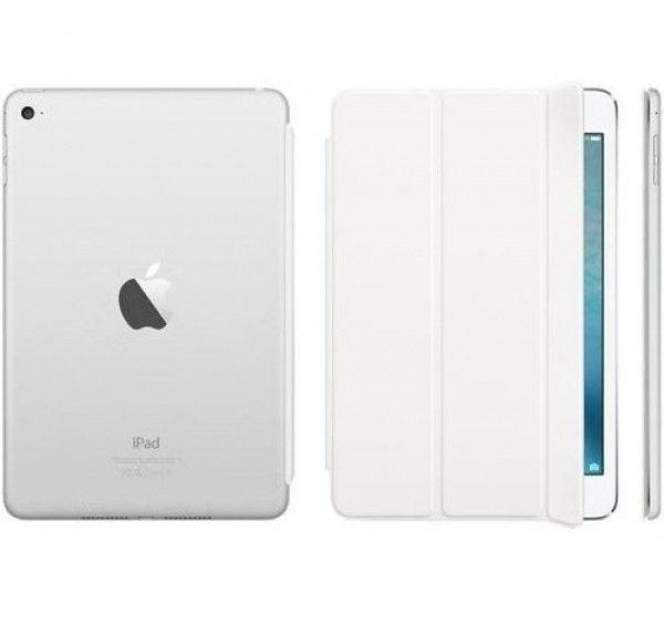 Чехол-книжка Apple Smart Cover для iPad mini 4 (MKLW2ZM/A) White - 4