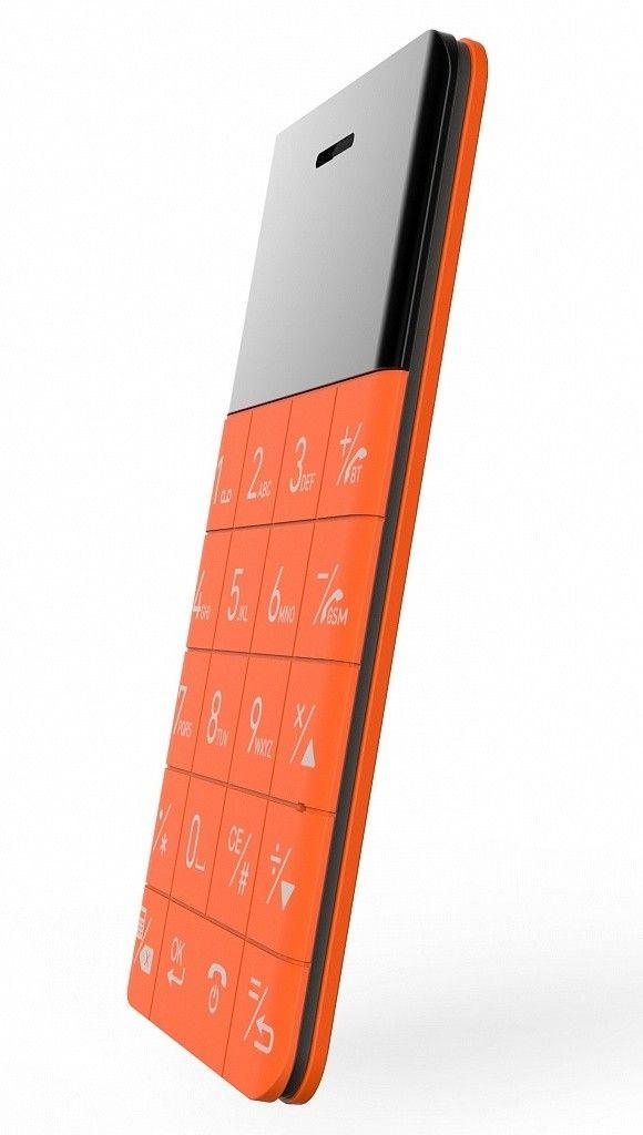 Мобильный телефон Elari CardPhone Orange (LR-CP-RNG) - 2