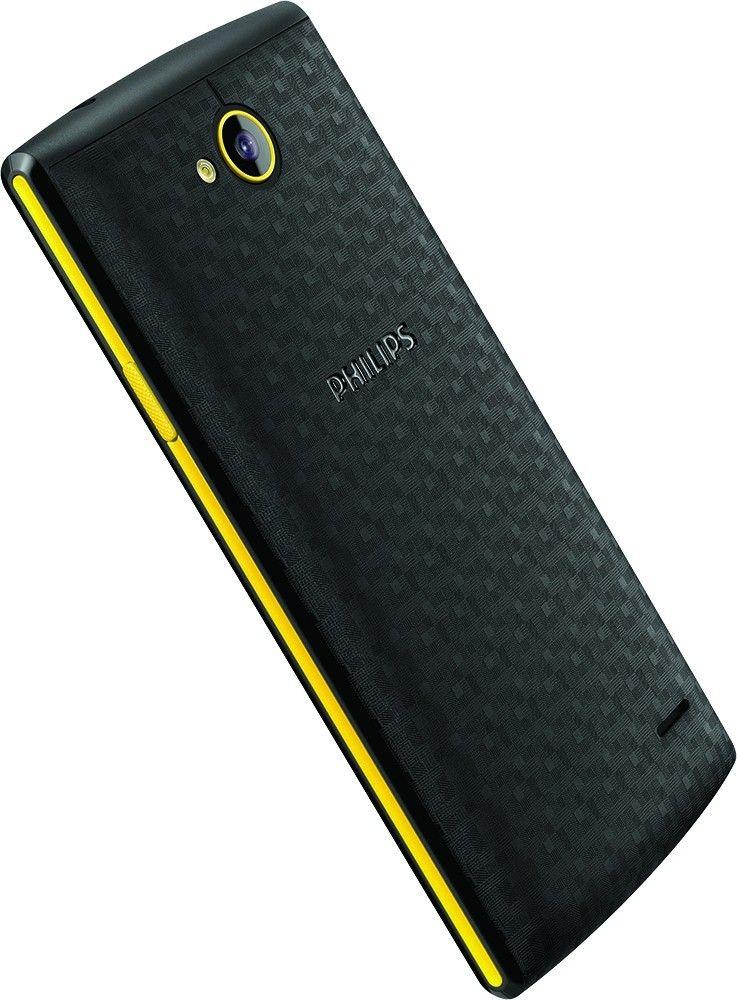 Мобильный телефон Philips s307 Black-Yellow - 2