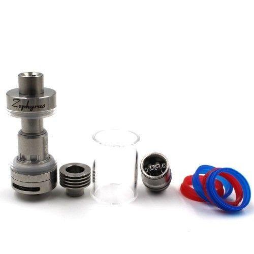 Атомайзер UD Zephyrus V2 RTA Kit Silver (UDZV2KSL) - 3