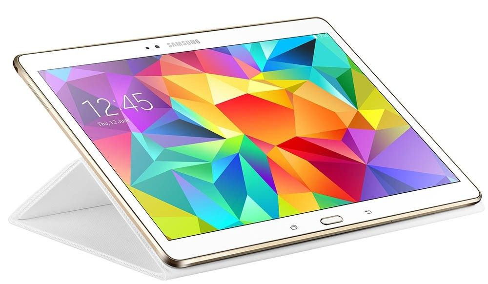 "Чехол Samsung T80x для Samsung Galaxy Tab S 10.5"" Dazzling White (EF-BT800BWEGRU) - 1"