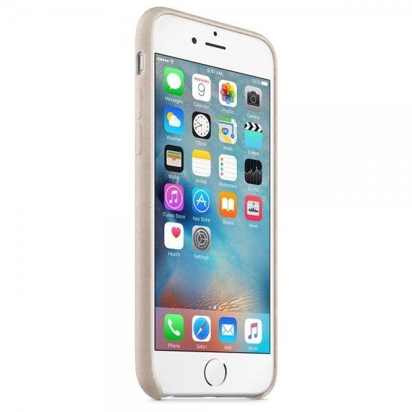 Чехол для Apple iPhone 6s Leather Case Rose Gray (MKXV2ZM/A) - 3
