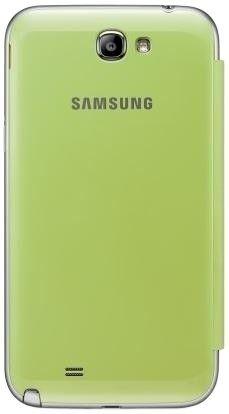 Чехол Samsung для GT-N7100 Galaxy Note II Lime Green (EFC-1J9FLEGSTD) - 2