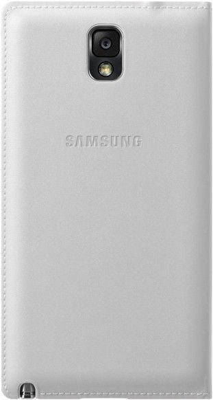 Чехол Samsung для Galaxy Note 3 Flip Wallet Jet (EF-WN900BWEGRU) White - 3