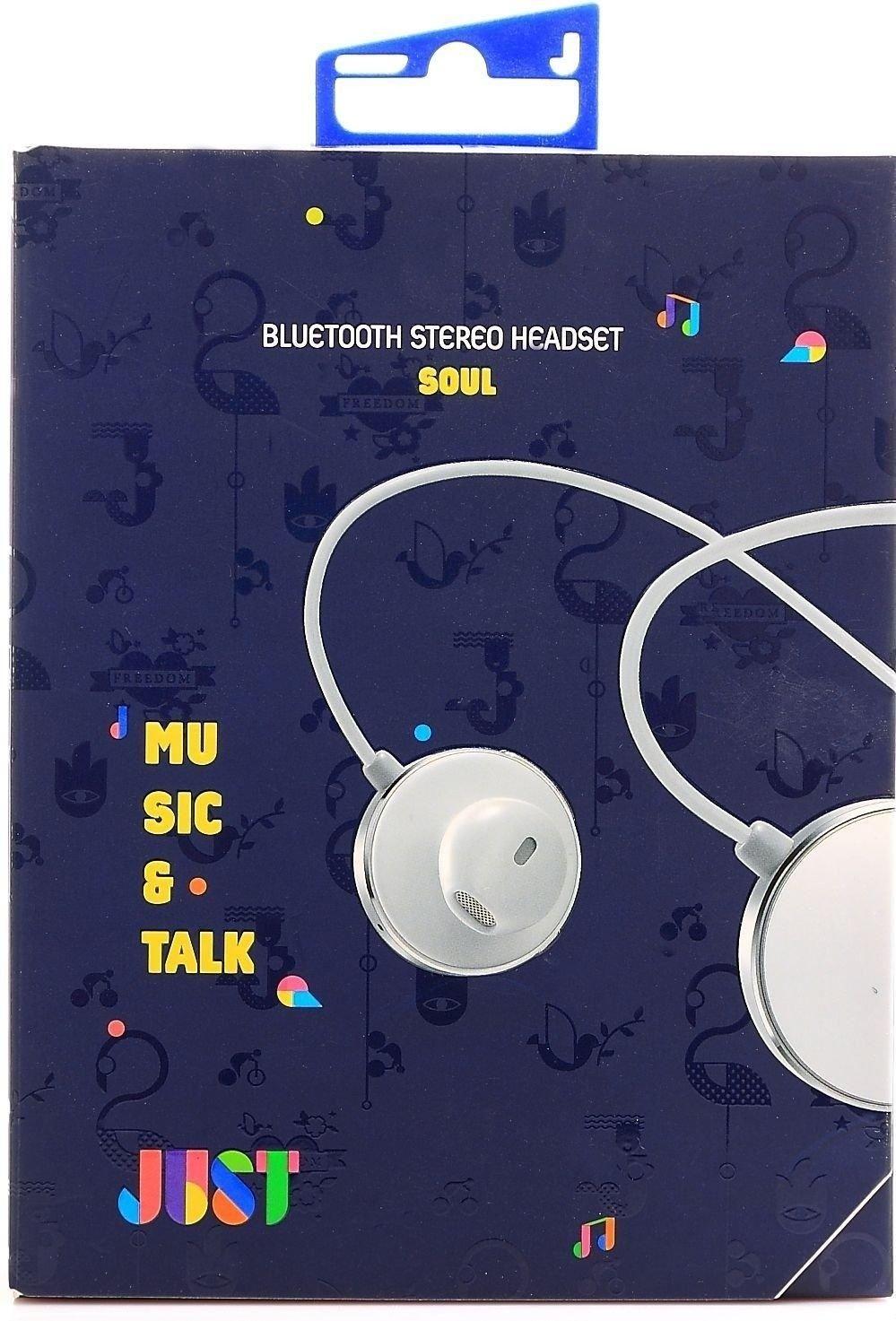 Наушники Just Soul Bluetooth Headset White (SL-BLTH-WHT) - 2
