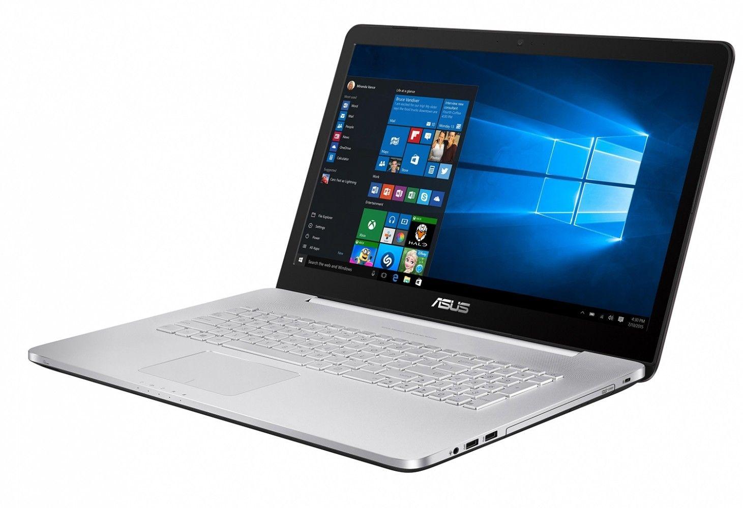Ноутбук ASUS N752VX (N752VX-GB157T) - 1