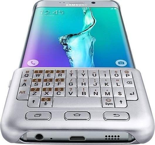 Чехол-клавиатура Samsung для Galaxy S6 Edge+ (EJ-CG928RSEGRU) Silver от Територія твоєї техніки - 5