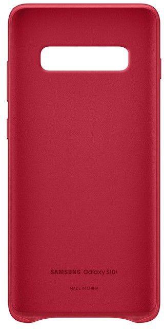 Панель Samsung Leather Cover для Samsung Galaxy S10 Plus (EF-VG975LREGRU) Red от Територія твоєї техніки - 4