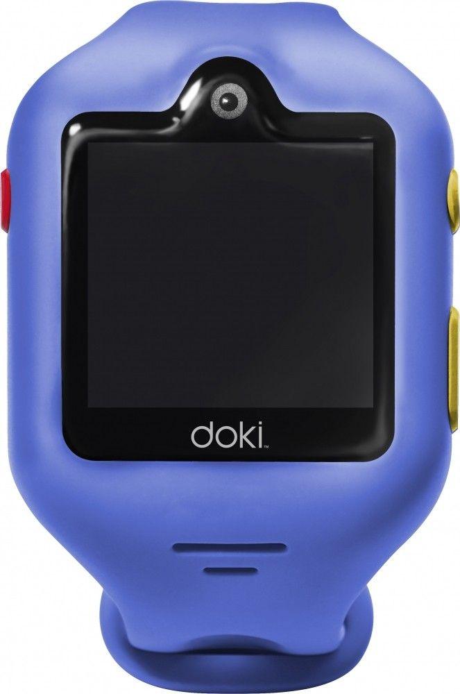 Детские телефон-часы с GPS трекером Doki Watch S (DOKIWATCH-2101-SB) Sonic Blue