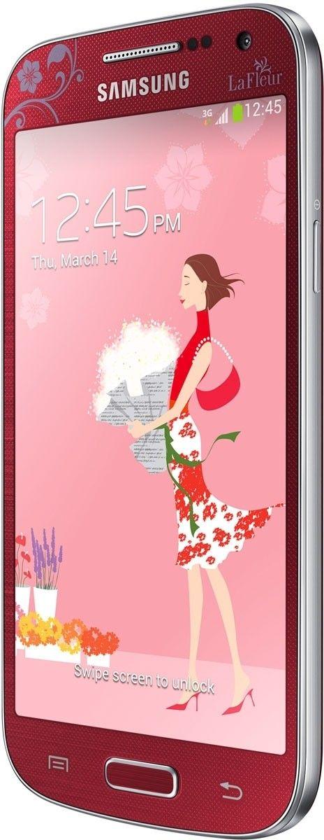 Мобильный телефон Samsung I9190 Galaxy S4 Mini Red La Fleur - 3
