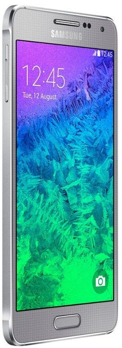 Мобильный телефон Samsung Galaxy Alpha G850F Sleek Silver - 1