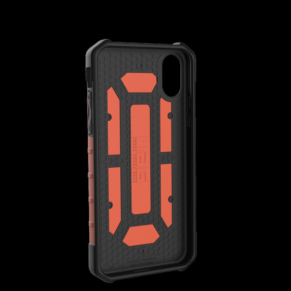 Чехол UAG iPhone X Pathfinder Rust Orange от Територія твоєї техніки - 2