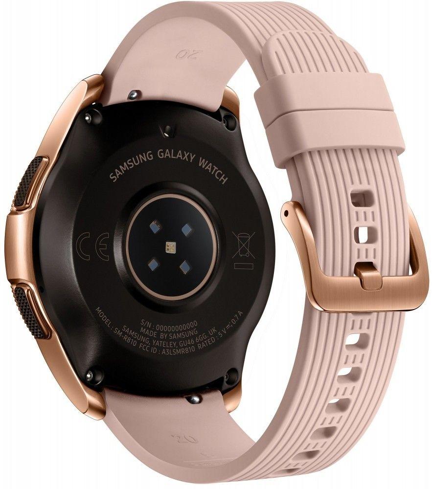 Смарт часы Samsung Galaxy Watch 42mm (SM-R810NZDASEK) Gold от Територія твоєї техніки - 3