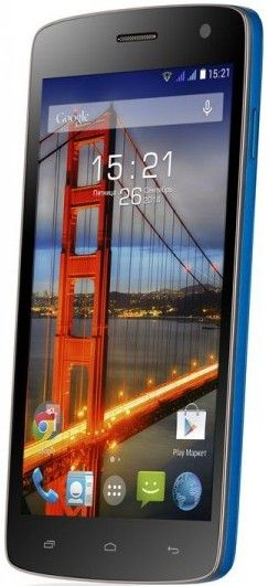 Мобильный телефон Fly IQ4503 Era Life 6 Blue - 1