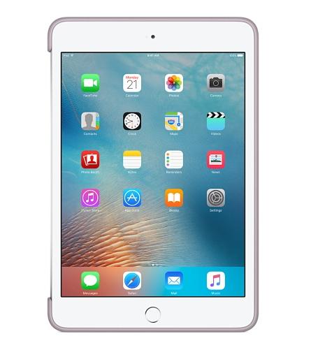 Силиконовый чехол Apple Silicone Case для  iPad mini 4 (MLD62ZM/A) Lavender - 2
