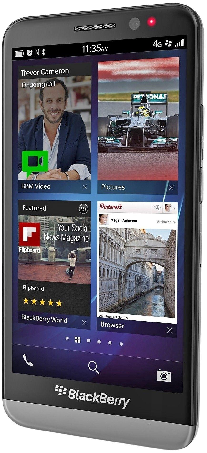 Мобильный телефон BlackBerry Z30 Black - 1