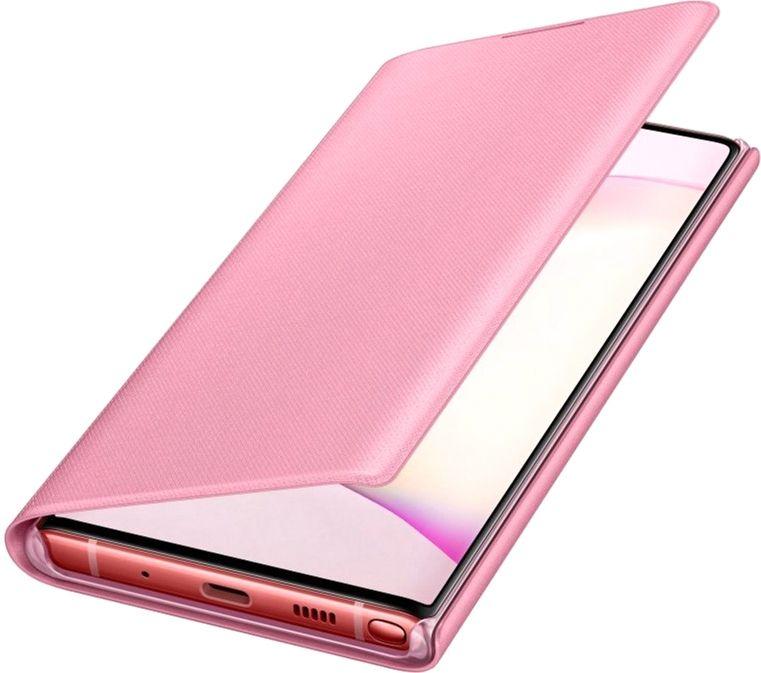 Чехол Samsung LED View Cover для Samsung Galaxy Note 10 (EF-NN970PPEGRU) Pink от Територія твоєї техніки - 4