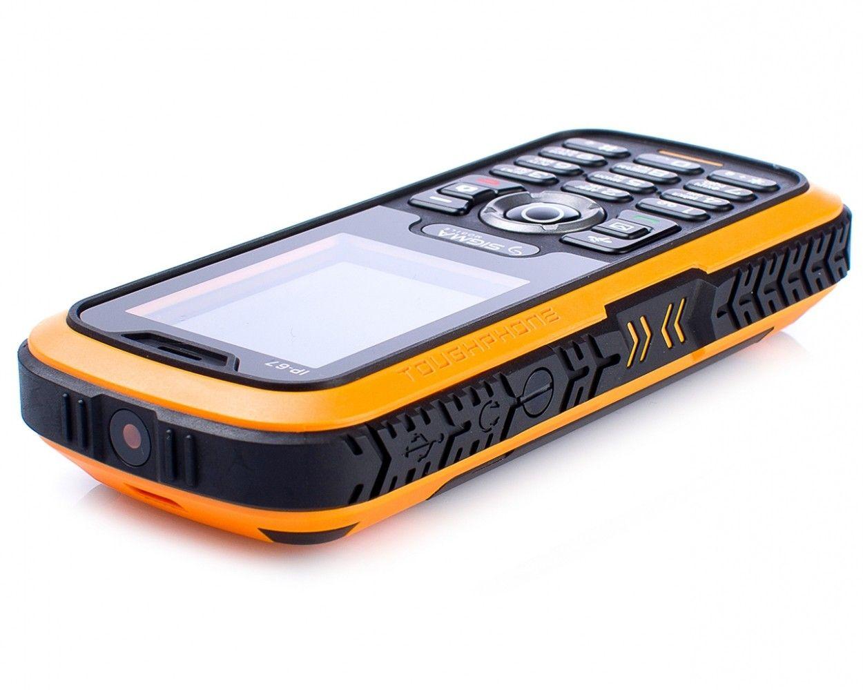 Мобильный телефон Sigma mobile X-treme IP67 Black Orange - 4