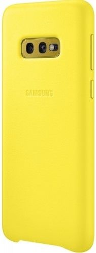 Панель Samsung Leather Cover для Samsung Galaxy S10e (EF-VG970LYEGRU) Yellow от Територія твоєї техніки - 2