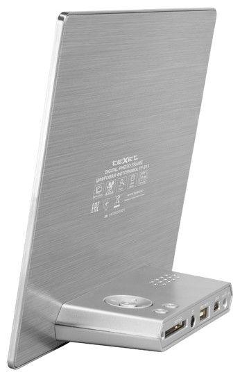 Цифровая фоторамка Texet TF-815 Silver - 1