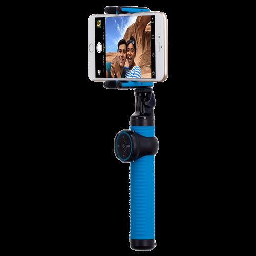 Монопод для селфи MOMAX Selfie Hero Bluetooth Selfie Pod 70cm Blue/Black (KMS6D) - 2