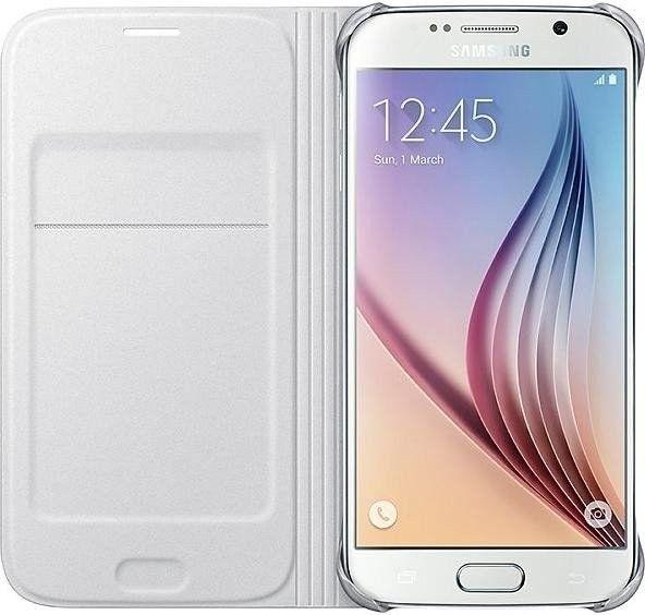 Чехол Samsung Zero для Samsung Galaxy S6 White (EF-WG920PWEGRU) - 1
