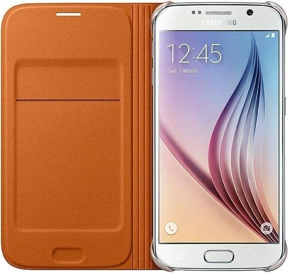 Чехол Samsung Zero для Samsung Galaxy S6 Orange (EF-WG920BOEGRU) - 2