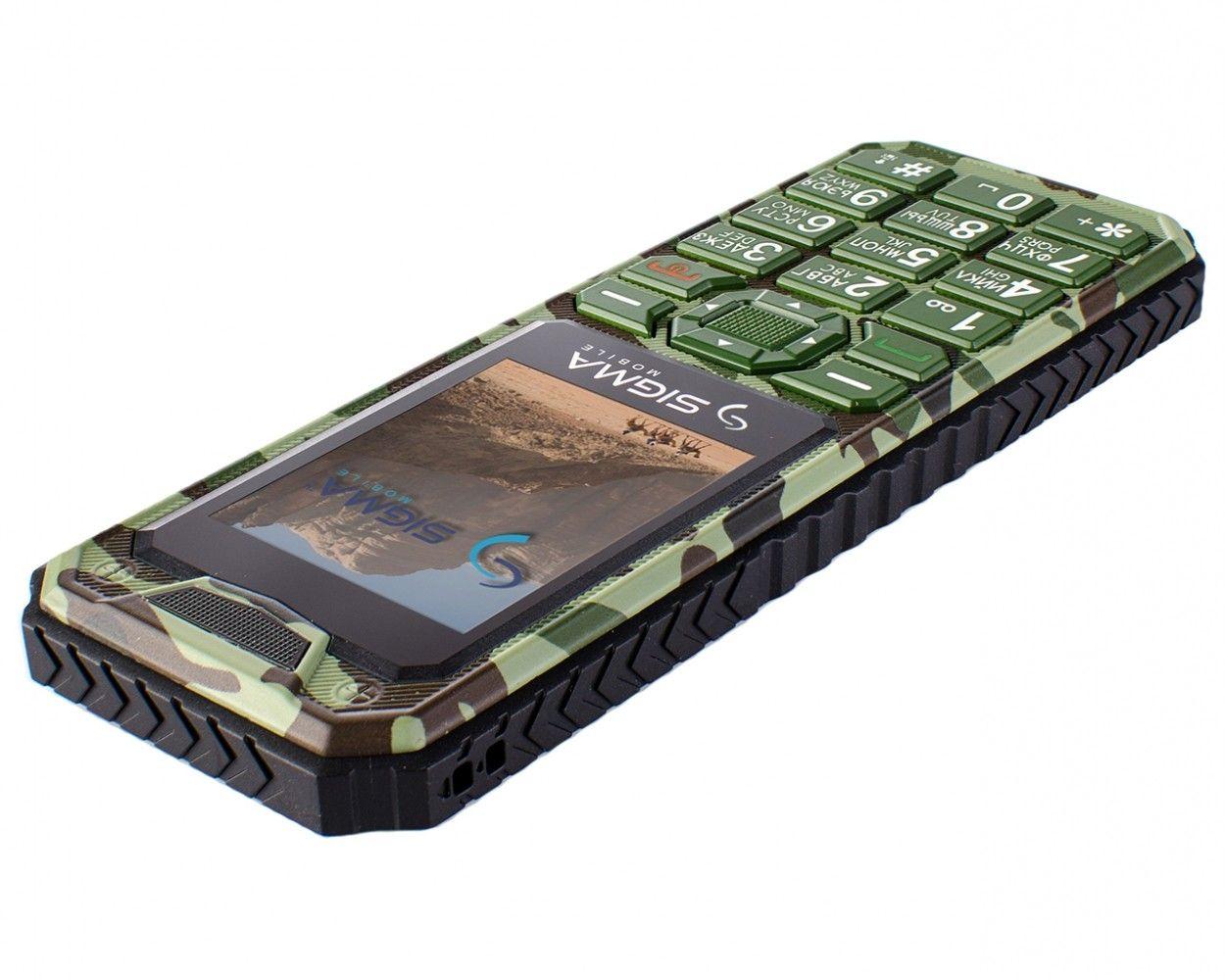 Мобильный телефон Sigma mobile X-style 11 Dragon Green Camouflage - 3