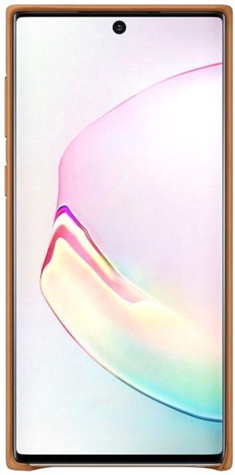 Чехол Samsung Leather Cover для Samsung Galaxy Note 10 (EF-VN970LAEGRU) Sand-Beige от Територія твоєї техніки - 3