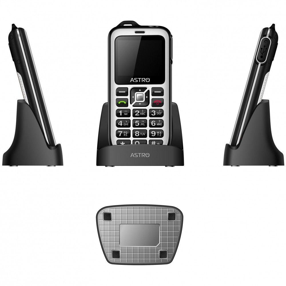 Мобильный телефон ASTRO B200 RX White - 3