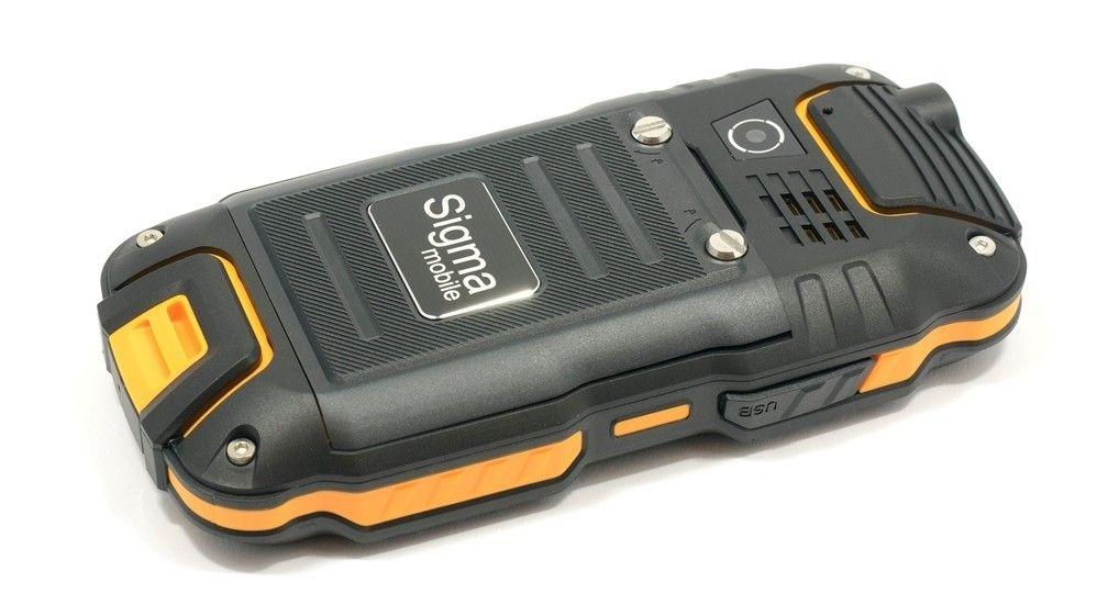 Мобильный телефон Sigma mobile X-treme DZ67 Travel Orange Black - 2