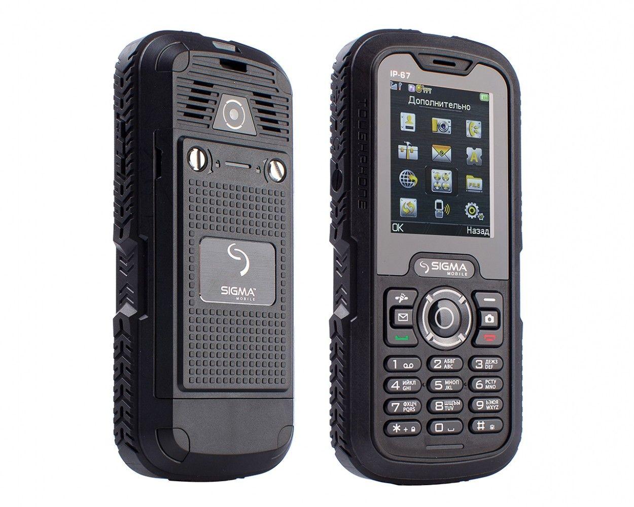 Мобильный телефон Sigma mobile X-treme IP67 Black - 2