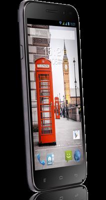 Мобильный телефон Fly IQ455 Octa Ego Art 2 Black - 2
