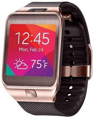 Смарт часы Samsung Gear2 SM-R3800 Gold Brown - 1
