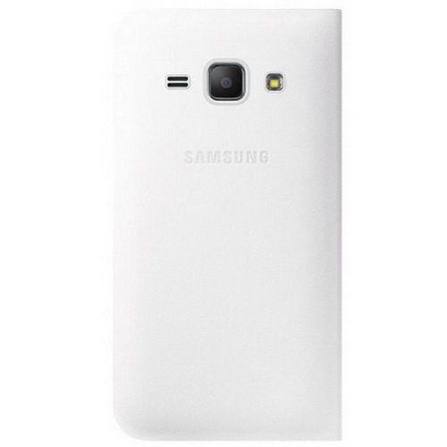 Чехол-книжка Flip Wallet для Samsung J1 mini 2016 White (EF-FJ105PWEGRU)