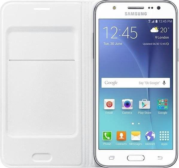 Чехол Samsung Flip Wallet для Samsung Galaxy J5 White (EF-WJ500BWEGRU) - 2