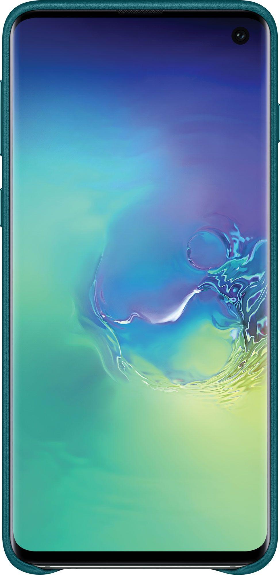 Панель Samsung Leather Cover для Samsung Galaxy S10 (EF-VG973LGEGRU) Green от Територія твоєї техніки - 3
