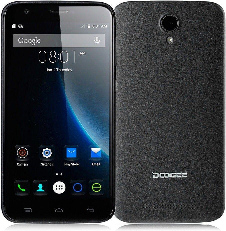 Мобильный телефон Doogee Valencia 2 Y100 Plus Black - 3