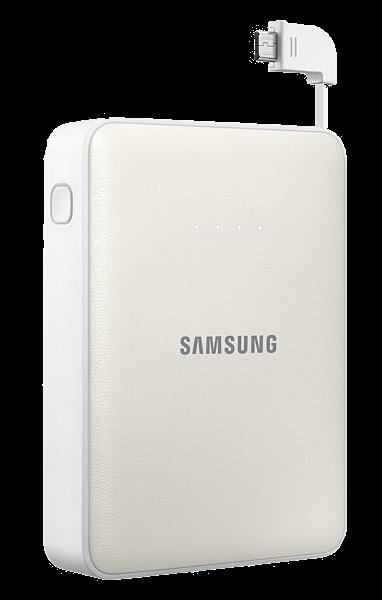Портативная батарея Samsung EB-PG850BWRGRU White - 1
