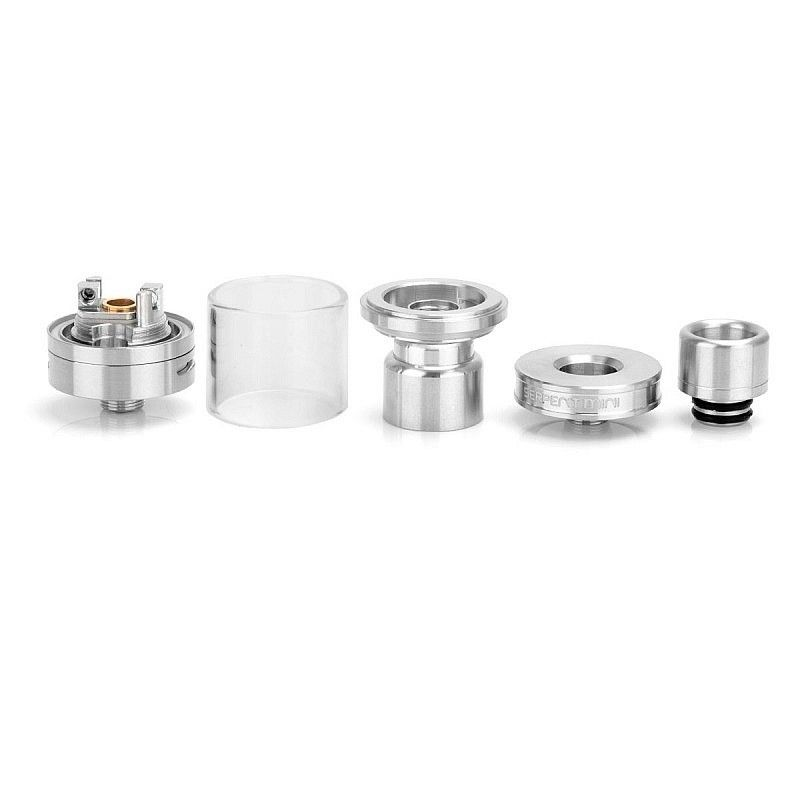 Атомайзер Wotofo Serpent Mini Stainless Steel (WOTSERMIN)  - 1