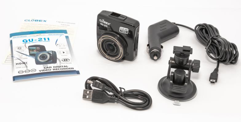 Видеорегистратор Globex GU-211 - 3