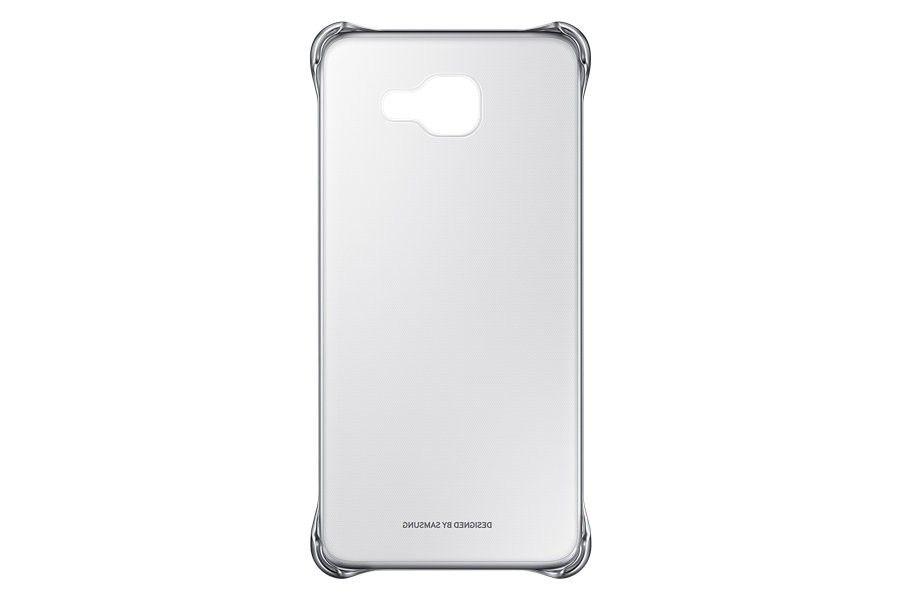 Чехол Clear Cover Samsung для A5 2016 Silver (EF-QA510CSEGRU)  - 1