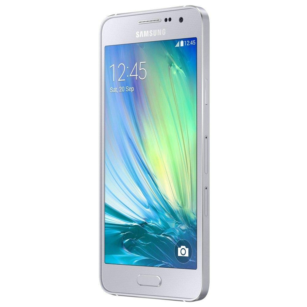 Мобильный телефон Samsung Galaxy A3 SM-A300H Silver - 1
