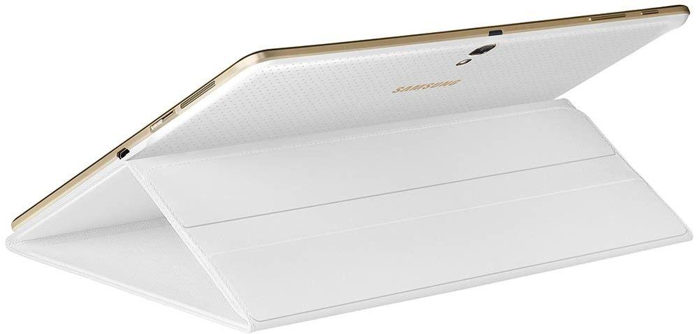 "Чехол Samsung T80x для Samsung Galaxy Tab S 10.5"" Dazzling White (EF-BT800BWEGRU) - 2"