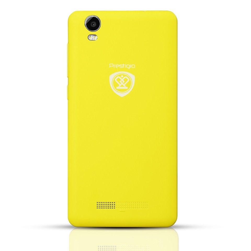 Мобильный телефон Prestigio Wize P3 3508 DUO Yellow - 2