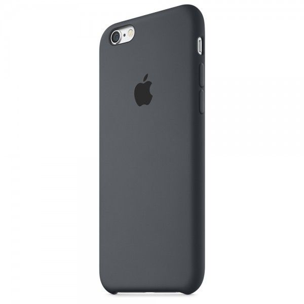 Панель Apple iPhone 6s Silicone Case Charcoal Gray (MKY02ZM/A) - 1