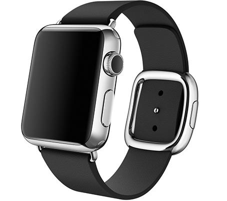 Ремешок Modern для Apple Watch 38мм (MJY72/MJY82/MJY92) Black - 1