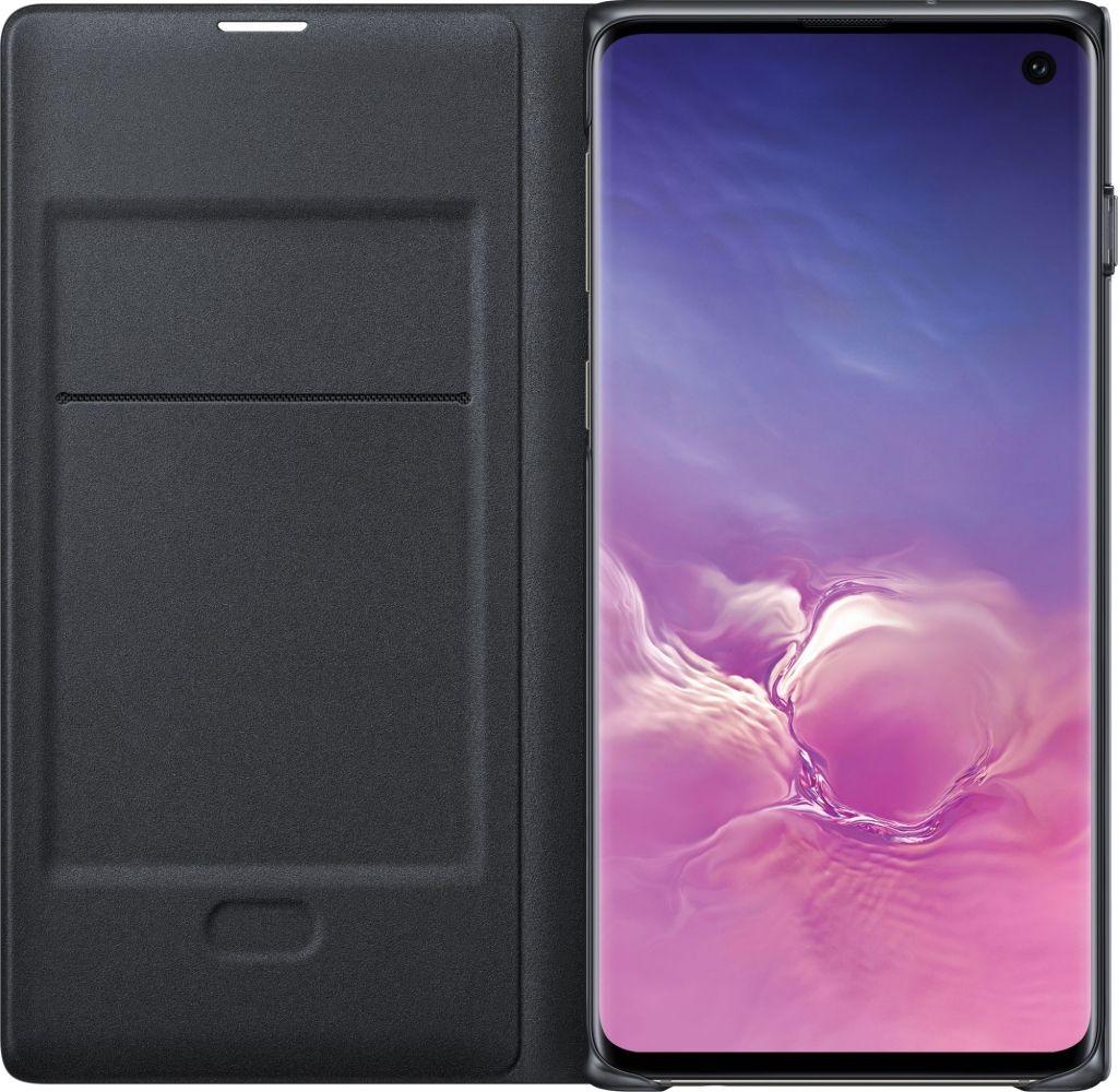 Чехол-книжка Samsung LED View Cover для Samsung Galaxy S10 (EF-NG973PBEGRU) Black от Територія твоєї техніки - 2